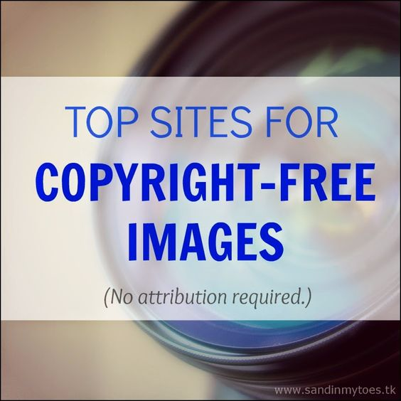 A guide for finding and using copyright-free photos on your blog, including top sites.  #blogging #bloggingtips #freephotos