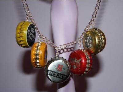 Bottle cap jewelry instructions all jewellery on this for Beer cap jewelry