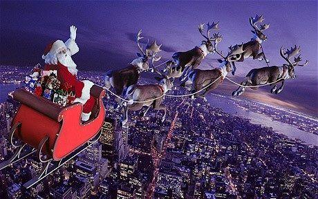 Julemanden på vej