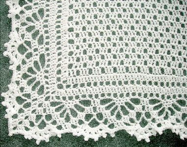 Cotton Chenille Crochet Baby Blanket Free Pattern at Jimmy ...
