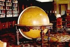 Globe of the world made in 1762