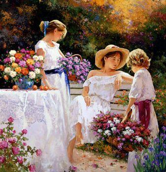 Jose Miguel Roman Frances painting (144 pieces)