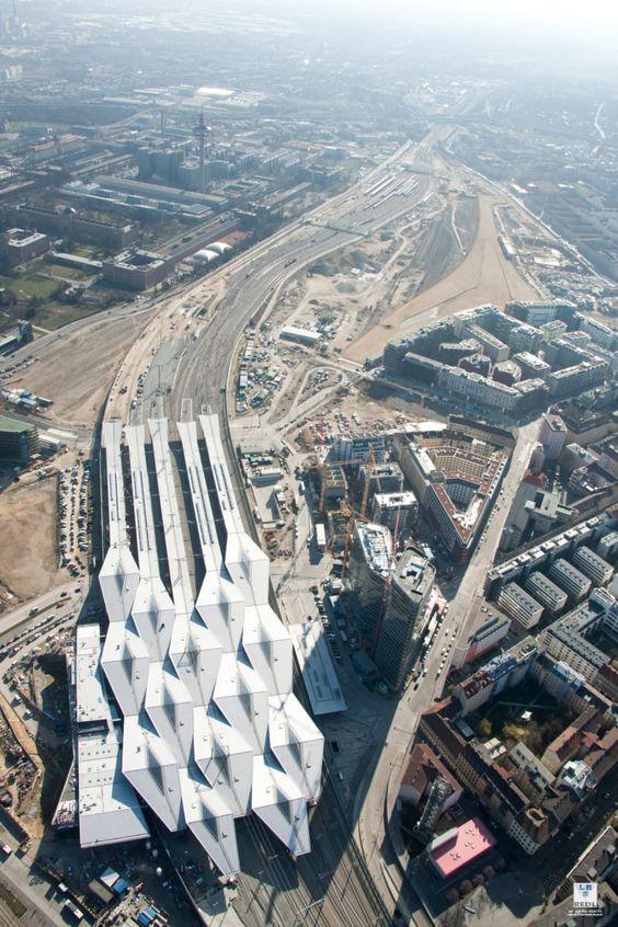 Theo Hotz Partner Architekten · Vienna Central Station