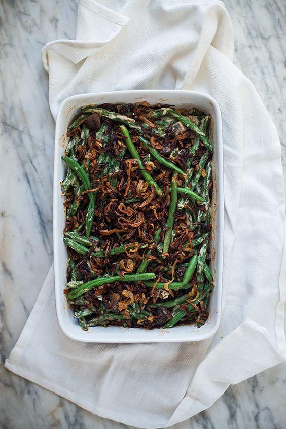 more crispy shallots green bean casserole bean casserole green beans ...