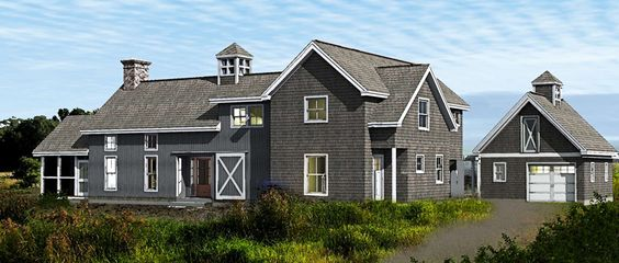 New england contemporary barn style american post beam for New england shed plans