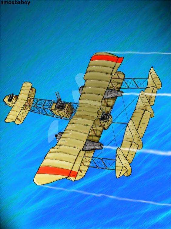 steampunk y wing coloured by amoebabloke on DeviantArt