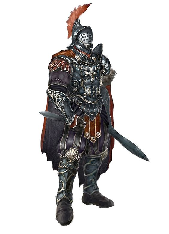 Character Design Challenge Gladiator : Gladiator i like the cloak placement knights