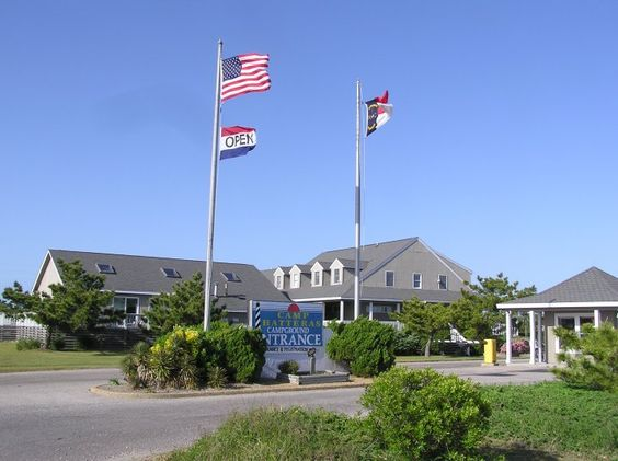 Camp Hatteras Campground in Waves, NC. They have a bluegrass festival nearby every September....can't wait to go next year!