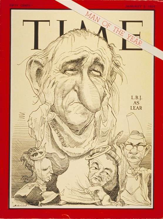 1967: President Lyndon B. Johnson - Time