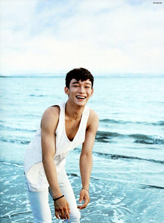 Chen you're precious <3 EXO Dear Happiness photobook 2016 <3