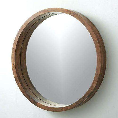 Wall Mirrors Large Round Wood Framed Mirror Round Oak Framed Mirror Large Round Mirror Wooden Frame Round W Wood Mirror Round Wood Mirror Wood Mirror Bathroom