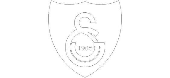 Gs Galatasaray Logosu Cizimi Semboller Cizim Disney Hayran Sanati
