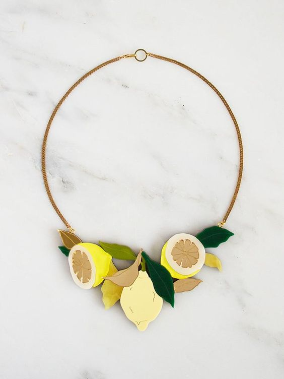 Lemon Grove Necklace by Wolf & Moon