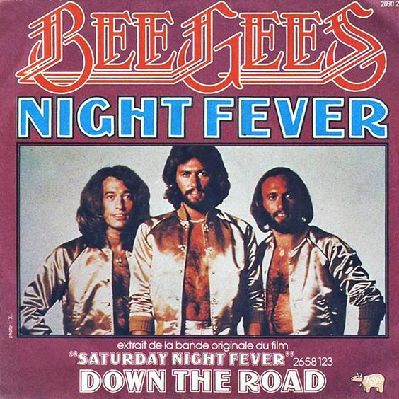 Bee Gees – Night Fever (single cover art)