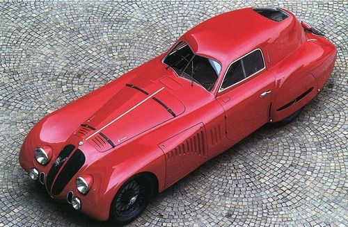 ALFA ROMEO 8C 2900 B COMPETITION BERLINETTA - by Touring Superleggera