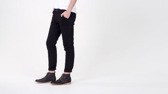 RVCA Black Uplander Pants Chinos | Wildfang - Tomboy Style + Culture | WILDFANG