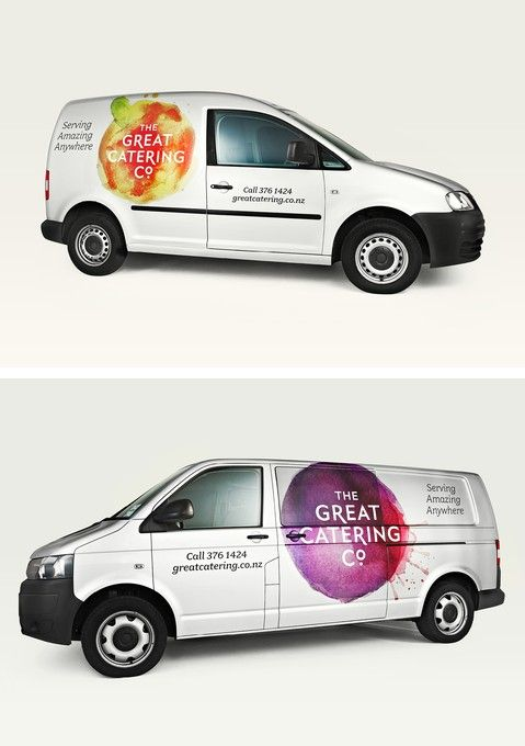 The Great Catering Company Branding - Strategy Design