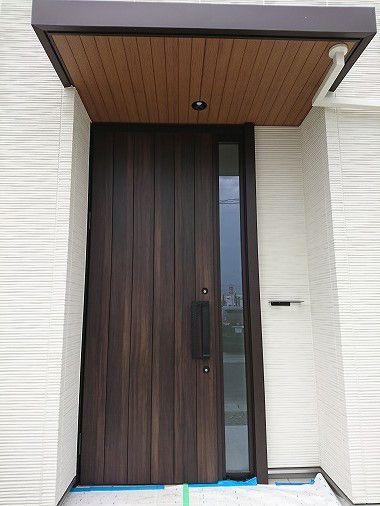 我が家のおこだわりポイント 玄関ドア 玄関ドア 玄関 たたき 玄関
