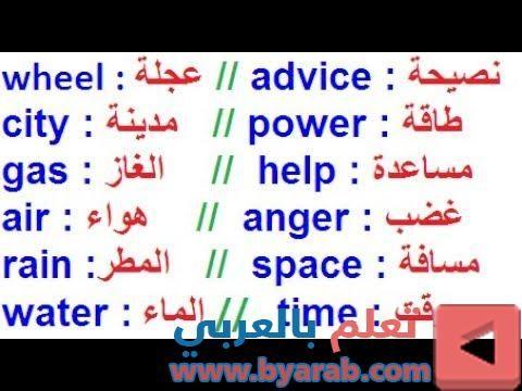 تعلم القواعد اللغة الإنجليزية كاملة كلمات متعاكسة ومعانيها شرح سهل تكلم باللغة الإنجليزية 25 Power Advice