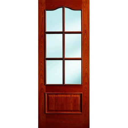 Puerta de madera de roble pino melix y sapelly ps ram30 for Puerta madera roble