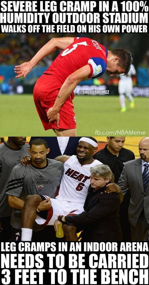 I hate lebron James because of this