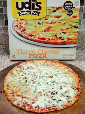 As Good As Gluten: Udi's Three Cheese Pizza