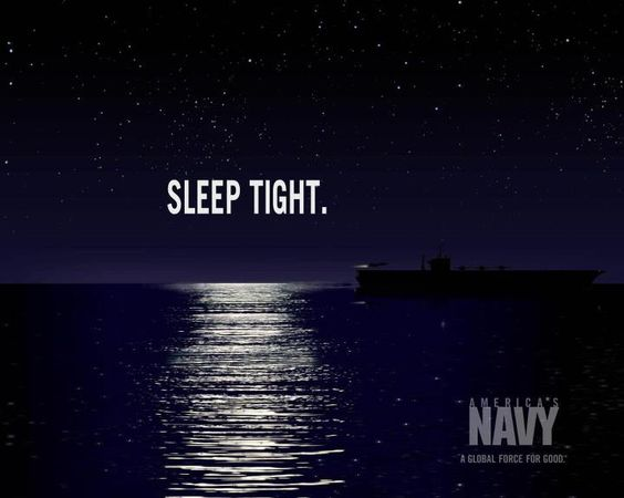 Sleep Tight  United States Navy