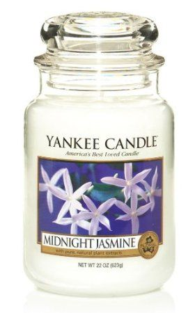 Surprisingly pretty and long lasting... Yankee Candle 22 oz. Midnight Jasmine Jar Candle