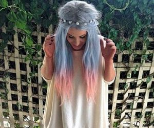 Pastel Hair Hipster
