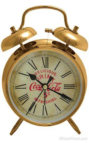 Coca-Cola Twin Bell Alarm Clock  http://www.retroplanet.com/PROD/38863