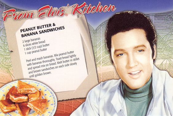 Elvis recipe card