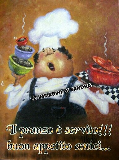 RESERVED for DAVINA shipping balance Four TALL Pastry Chefs Art Print, fat chef paintings, art ...