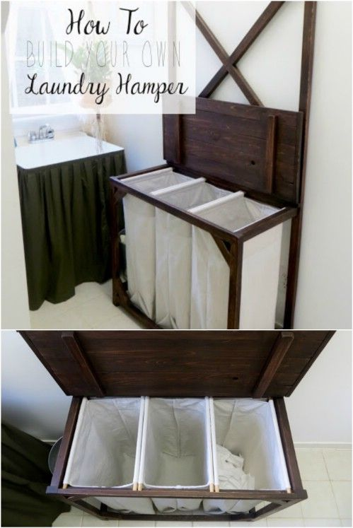 13 Diy Laundry Baskets And Hampers That Make Organizing Laundry Quick And Easy Laundry Room Diy Diy Laundry Basket Laundry Basket Storage Diy