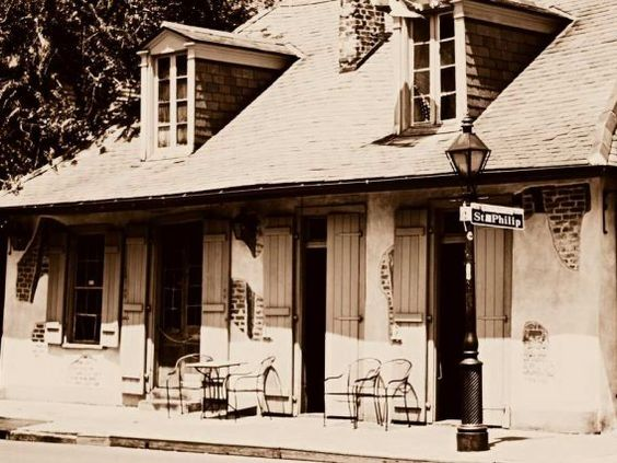 Have a drink at Jean Lafitte's Blacksmith Shop Bar in New Orleans, which claims to be the oldest operating bar in the U.S.