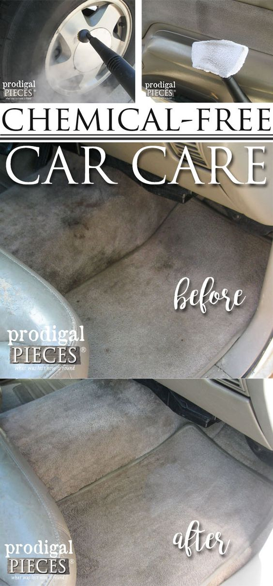 Chemical Free Car Care and Cleaning Using the AutoRight Steam Machine by Prodigal Pieces | www.prodigalpieces.com: