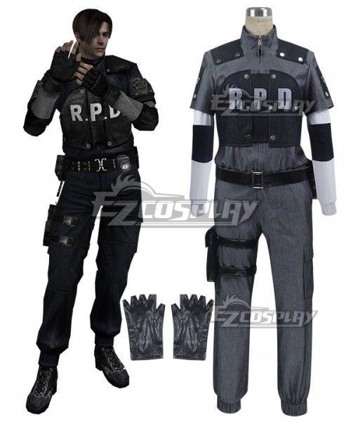 Resident Evil 4 Rpd Leon Scott Kennedy Cosplay Costume Rpd Leon