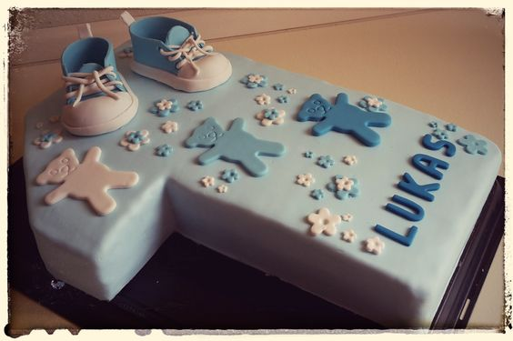 Mein Geschenk zum ersten #Geburtstag #Motivtorten #DasTortenfräulein