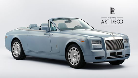 Rolls-Royce Inspired by Art Deco.