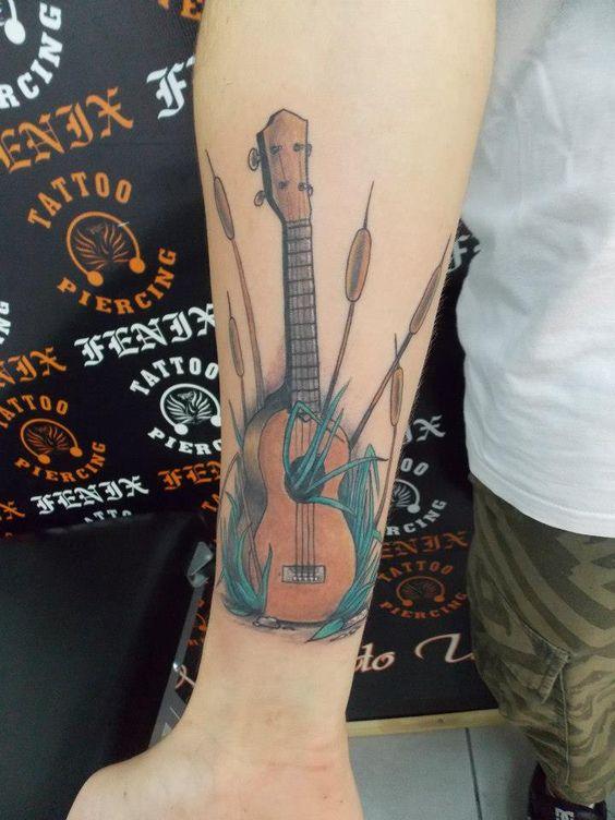 my ukulele tattoo!