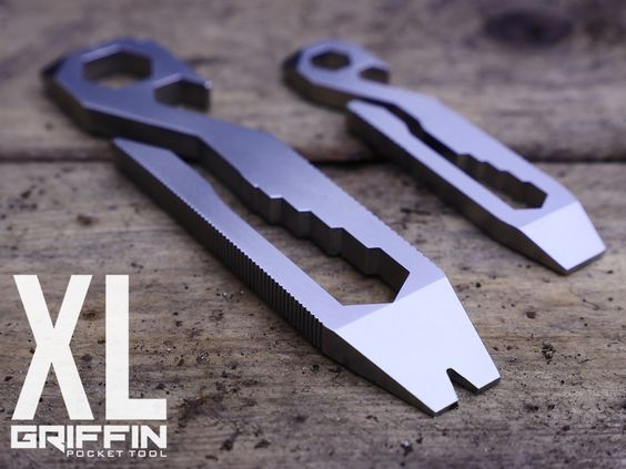 Featuring 15+ tools in one simple design, the Griffin Pocket Tool XL keeps you prepared for anything while you are on the go.