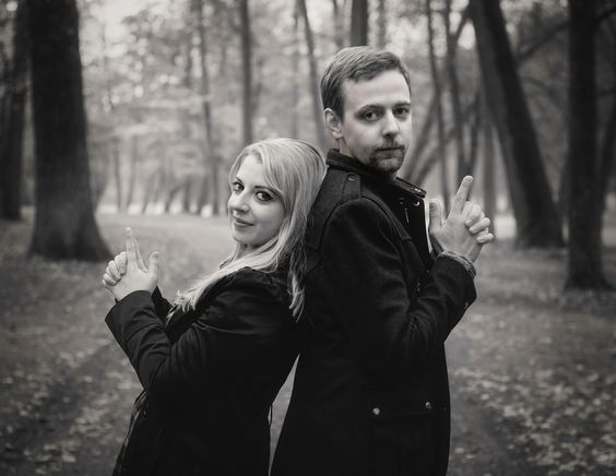 Couple in black - Thanks to Laura and her friend Christian for the nice shooting