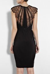 Lace Back Dress. OMG, I LOVE!!