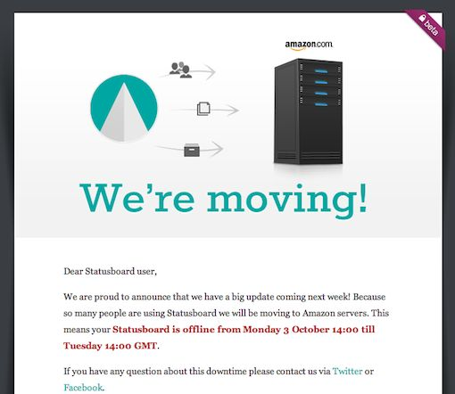 StatusBoard Email Campaign A great looking and fun template for - announcement template