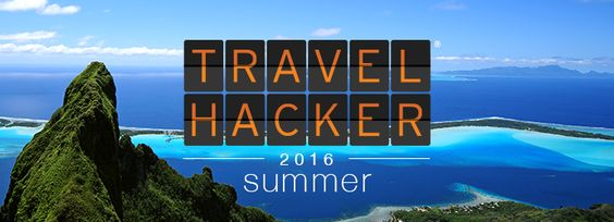 It's back! Our 2016 Summer Travel Hacker Guide is here to kickstart your travel planning as the heat turns up.