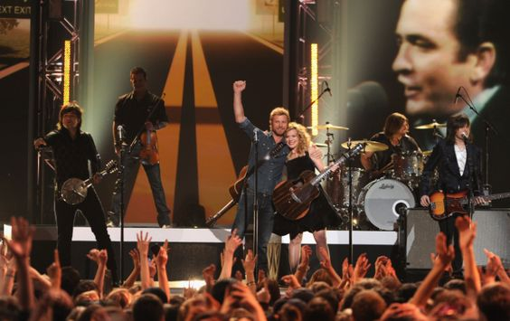 "Dierks Bentley and the Band Perry perform on ""The GRAMMY Nominations Live!! — Countdown To Music's Biggest Night"" on Dec. 5 in Nashville. Tune into the 55th GRAMMY Awards 2/10/13 on CBS! #TheWorldIsListening"