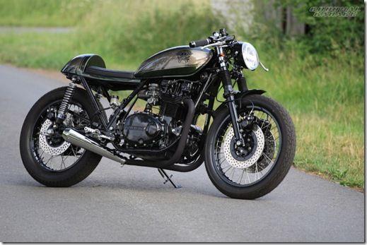 Kawasaki KZ750B Cafe Racer - H. B. Customs - Goodhal Garage