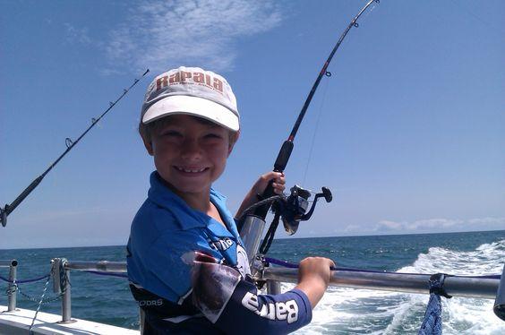 First deep see fishing trip December 2012