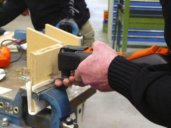 Mit dem MiniCut-Sägeblatt lassen sich feine Schnitte – zum Beispiel im Modellbau – setzen.  Mehr Infos hier: http://www.multimaster.info/de_de/zubehor/saegen/