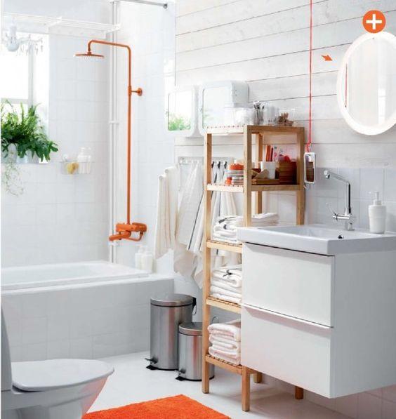 Love this Orange shower head! ikea bathrooms 2015   Home ...