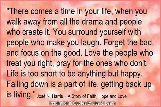 I love this and have to remember this is why I have moved on from certain people in my life. :-)